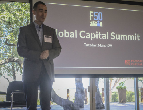Welcome Remarks by F50 | David Cao, CEO & Founder, F50
