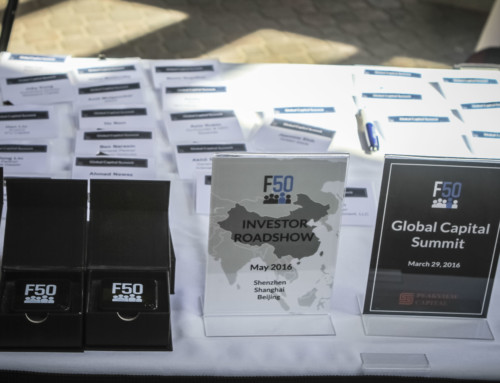 F50 Global Capital Summit Registration