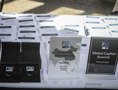 F50 Global Capital Summit Registration