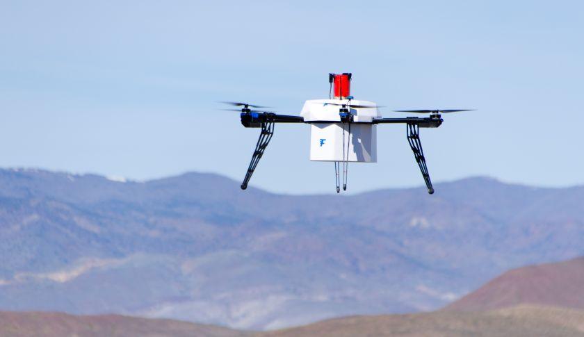 F50 Portfolio Company Flirtey Completes First Urban Drone Delivery